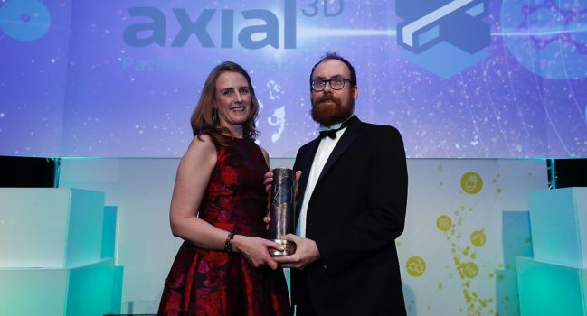 Axial3D win Medtech Award