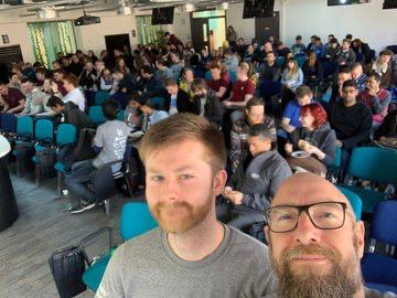 Opening Keynote Selfie